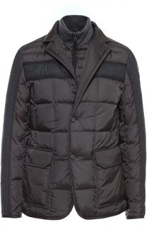 Пуховая куртка Ardenne с воротником-стойкой Moncler