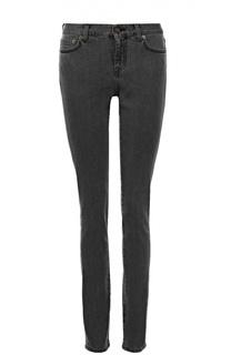 Джинсы-скинни с карманами Saint Laurent