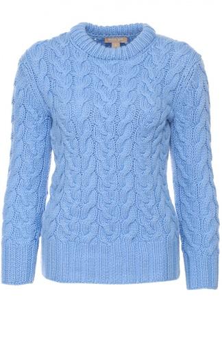 Кашемировый пуловер фактурной вязки Michael Kors