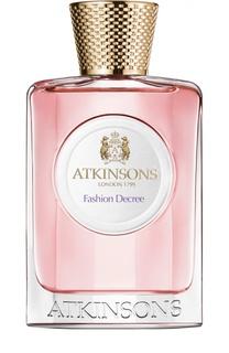 Туалетная вода Fashion Decree Atkinsons