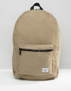 Хлопковый рюкзак Herschel Supply Co Daypack - Зеленый