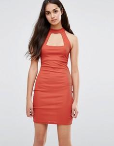 Облегающее платье Daisy Street - Оранжевый