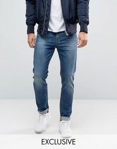 Синие облегающие джинсы Noak - Синий