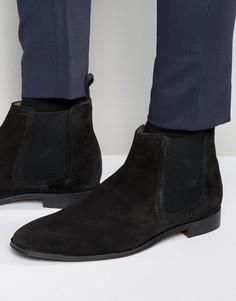 Черные замшевые ботинки челси Dead Vintage - Черный