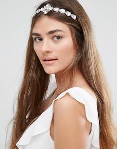 Обруч для волос с камнями DesignB - Золотой