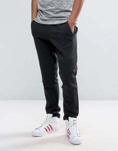 Джоггеры со стегаными вставками adidas Originals - Черный