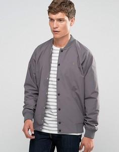 Серая нейлоновая куртка-пилот Farah - Серый