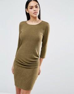Платье мини с рукавами 3/4 Pussycat London - Зеленый