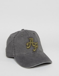 Abercrombie & Fitch Logo Cap In Grey - Красный