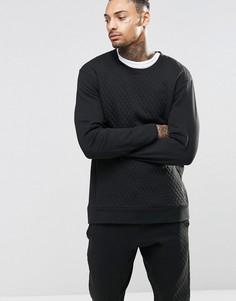 Стеганый топ слим для дома Calvin Klein - Черный