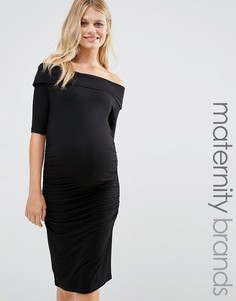 Платье с открытыми плечами Isabella Oliver - Черный