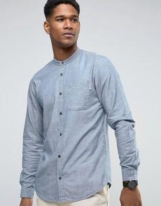 Рубашка из ткани шамбре Jack & Jones - Серый