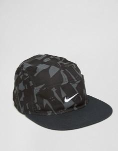 Черная 5-панельная кепка Nike SB 806159-010 - Черный