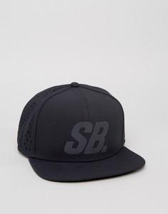 Кепка с отражающим логотипом Nike SB 804567-010 - Черный