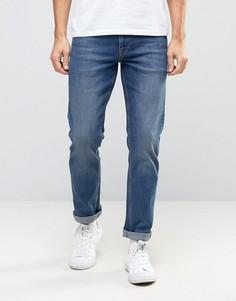 Узкие эластичные синие джинсы Noak - Синий