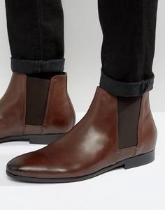 Кожаные ботинки челси Hudson London Adler - Коричневый