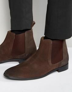 Коричневые замшевые ботинки челси Dead Vintage - Коричневый