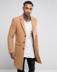 Шерстяное пальто Black Kaviar - Рыжий