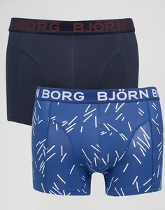 2 пары боксеров-брифов Bjorn Borg - Синий