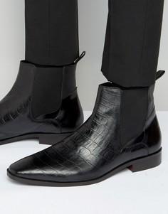 Кожаные ботинки челси KG Kurt Geiger Berkley - Черный