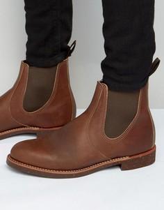 Кожаные ботинки челси Red Wing - Коричневый