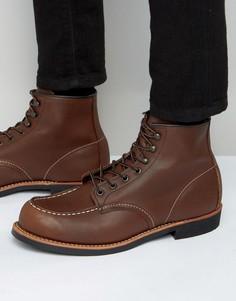 Кожаные ботинки Red Wing - Коричневый