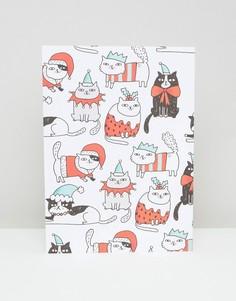Упаковочная бумага с котами Ohh Deer - Мульти