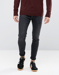 Зауженные джинсы United Colors of Benetton - Черный