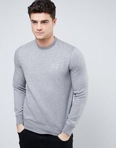 Серый свитшот с логотипом Armani Jeans - Серый