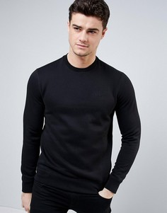 Armani Jeans Sweatshirt with Logo In Black - Черный