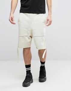 Трикотажные шорты с ремешками Granted - Синий