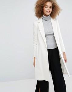 Удлиненное пальто Helene Berman Zoe - Белый