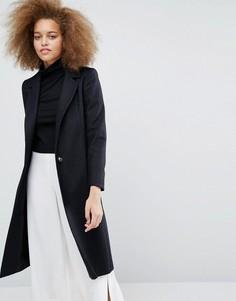 Черное пальто Helene Berman Zoe - Темно-синий