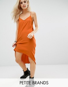 Платье-комбинация Noisy May Petite Kafi - Оранжевый