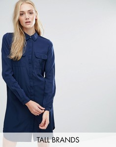Vero Moda Tall Classic Shirt Dress - Черный