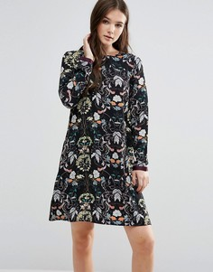 Платье Y.A.S Hailey - Темно-синий