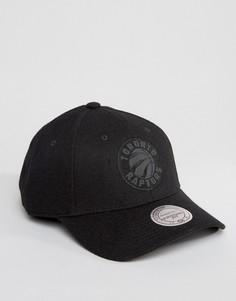 Шерстяная бейсболка Mitchell & Ness Eclipse Toronto Raptors - Черный