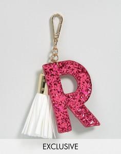 Брелок для ключей с буквой R Skinnydip - Мульти