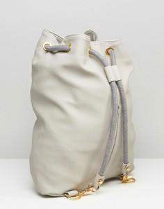 Рюкзак из искусственной кожи Mi-Pac - Серый