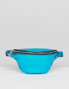 Голубая сумка-кошелек на пояс Skinnydip - Синий