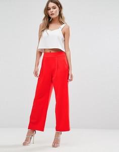 Укороченные брюки Alter - Красный