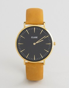 Часы с кожаным ремешком CLUSE La Boheme CL18420 - Золотой