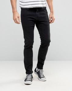 Супероблегающие черные джинсы Lee Malone - Черный