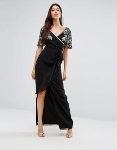 Платье макси Virgos Lounge Ariann - Черный