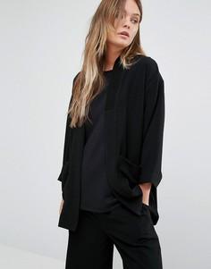 Пиджак-кимоно ADPT Totem - Черный