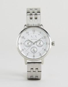 Серебристые часы Armani Exchange Payton - Серебряный