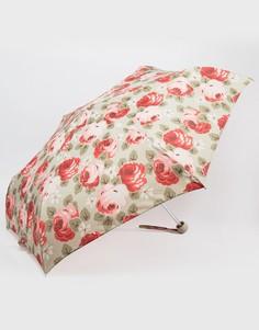 Песочный зонт с принтом роз Cath Kidston Minilite Aubrey - Мульти