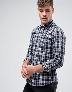 Фланелевая рубашка в клетку Jack and Jones - Белый