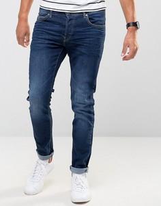 Темные облегающие джинсы Firetrap - Синий