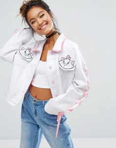 Джинсовая куртка Lazy Oaf X Disney Aristocats - Белый